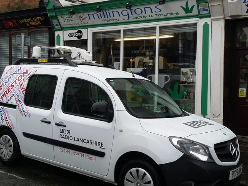 BBC Radio Lancashire in Chorley Shop