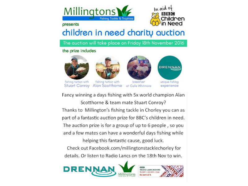 Children in Need Charity Auction Chorley