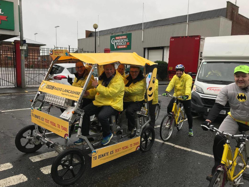 BBC Radio, Leyland, Children in Need