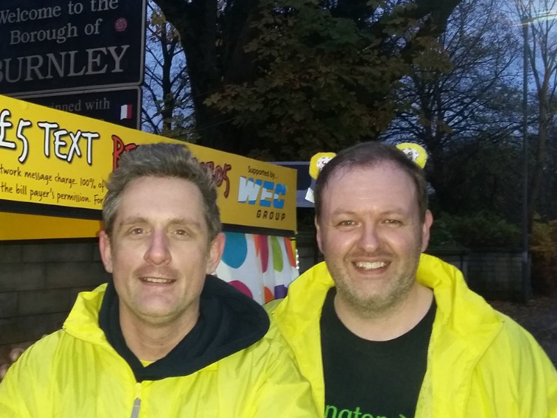 With Graham Liver for Children in Need