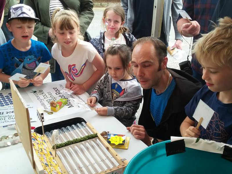 Local Charity Maggot Racing