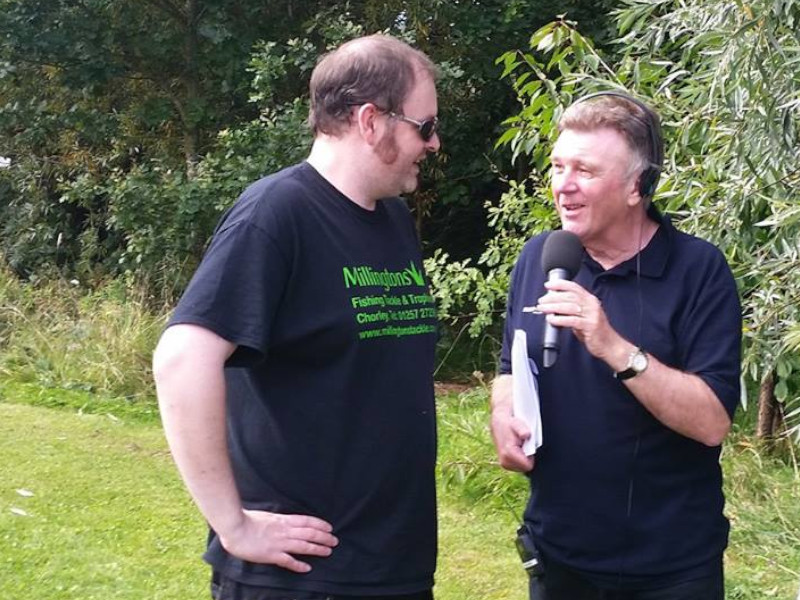 Matt and Gilly at Charity Event, Lancashire