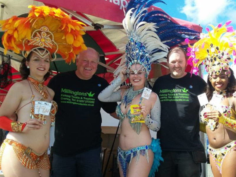 Millington at Charity Event