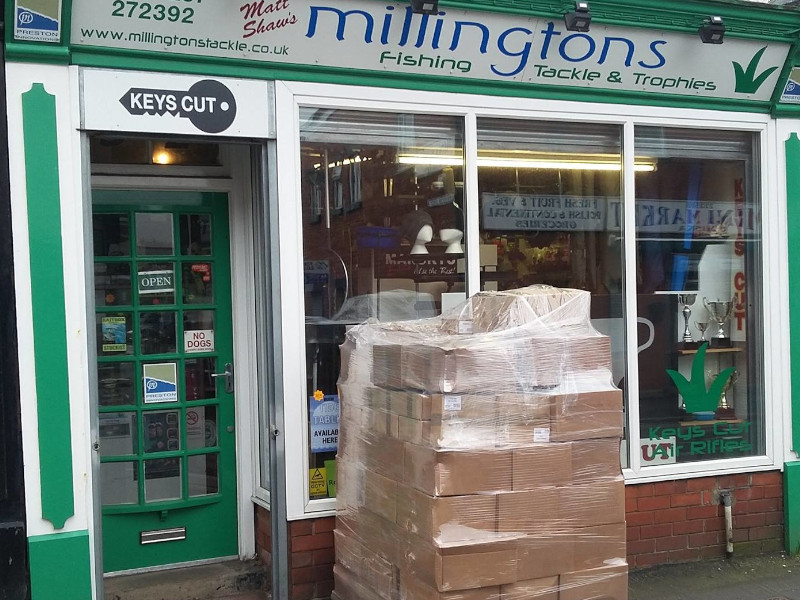 New stock at shop in Chorley