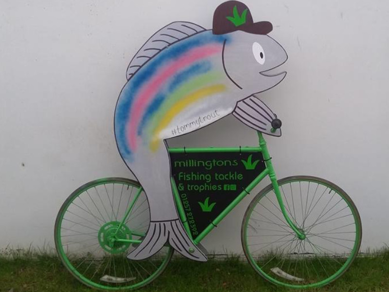 Tommy Trout on the Bike