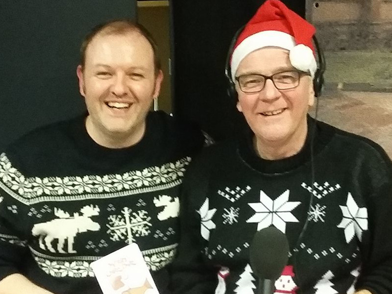 Xmas time with Radio Lancashire